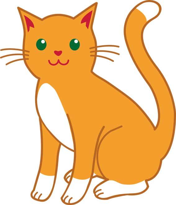 عکس کلیپ آرت گربه