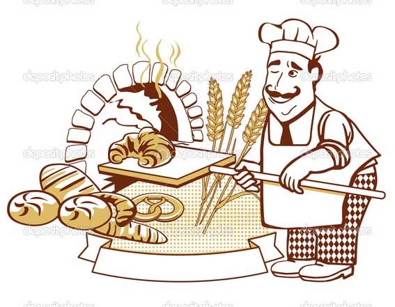 عکس کارتونی نانوایی