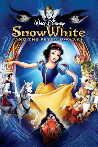 پوستر سفید برفی و هفت کوتوله