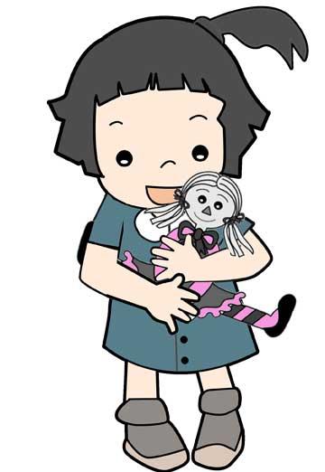 دختر و عروسک