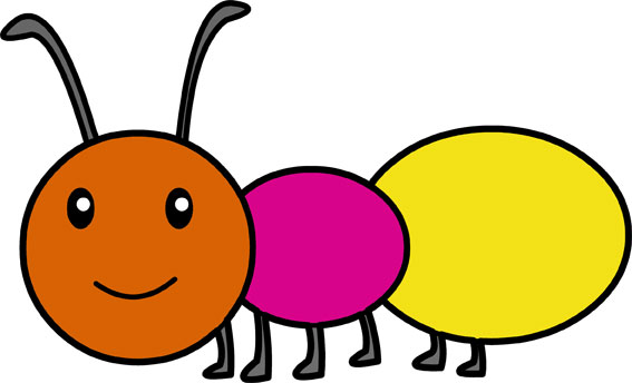 عکس کارتونی مورچه