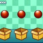 بازی تقویت حافظه توپ ها و جعبه ها