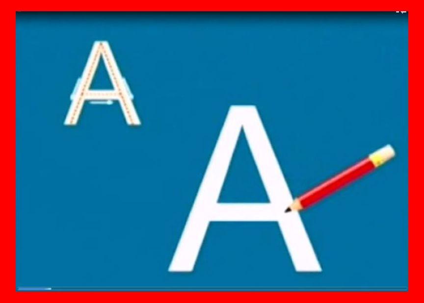 آموزش رسم الخط انگلیسی به کودکان