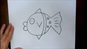 naghashi-mahi-300x169 کلیپ آموزش نقاشی - کشیدن ماهی