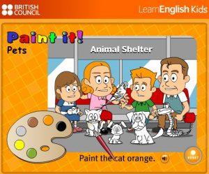 kids-learning21-300x249 آموزش رنگ ها و حیوانات به زبان انگلیسی