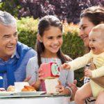 کودک و خانواده و پدربزرگ