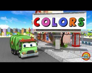 learninig-colors-istgahekoodak-300x240 یادگیری رنگ ها با کارتون ماشین حمل زباله
