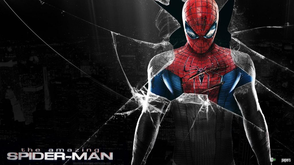 spiderman-wallpaper-4-1024x576 والپیپرهای مرد عنکبوتی - 10 عدد