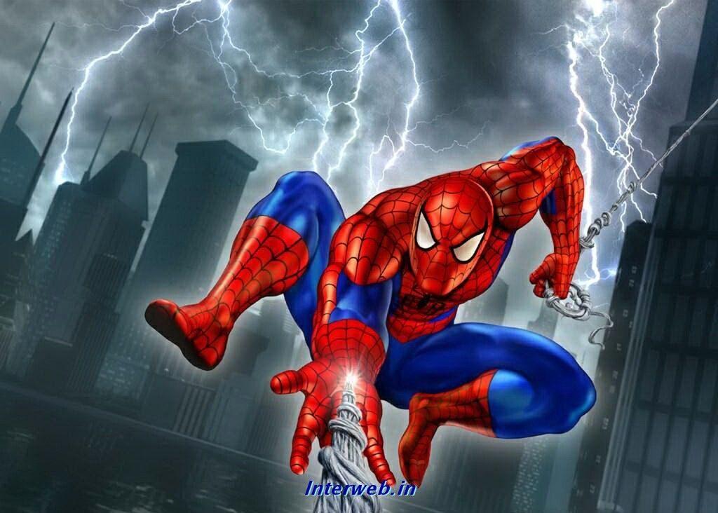 spiderman-wallpaper-8-1024x732 والپیپرهای مرد عنکبوتی - 10 عدد