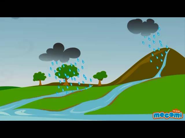 عکس کارتونی به وجود آمدن باران