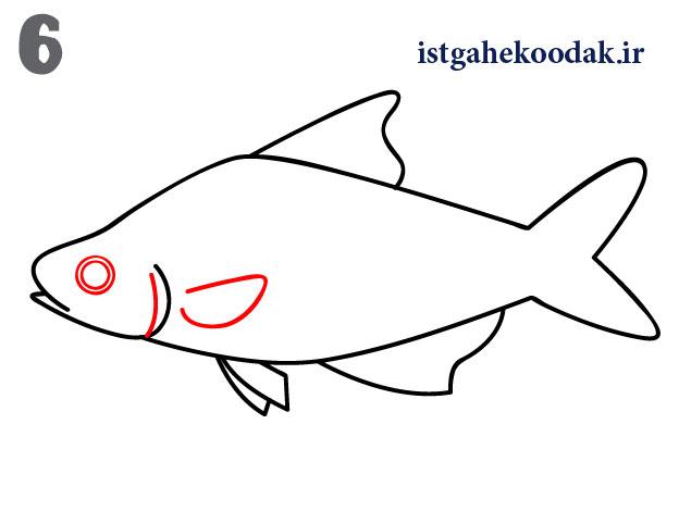 آموزش نقاشی ماهی