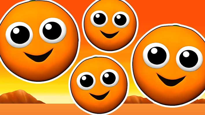 orange-kids فواید پرتقال برای کودکان