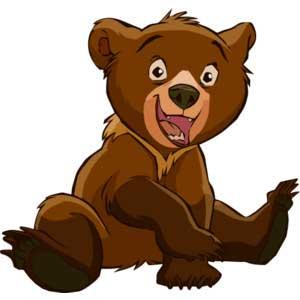 نتیجه تصویری برای خرس کارتونی