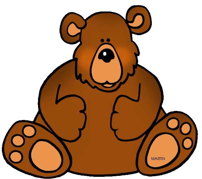 Bear-clipart-3-istgahekoodak قصه خرس کوچولو - چی تو کوله پشتی داری - قصه خردسالان