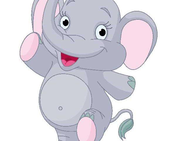 فیل کوچولو - کلیپ آرت