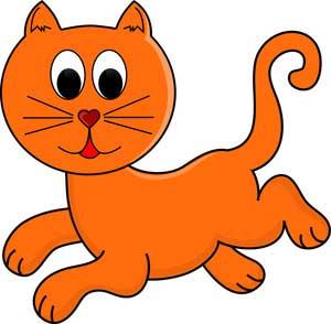 گربه - کلیپ ارت