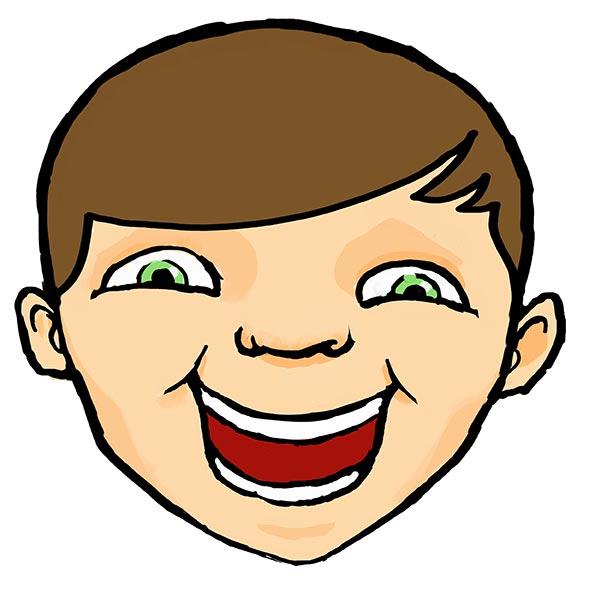 خنده پسربچه - عکس کارتونی