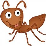 بچّه های مورچه - عکس کارتونی مورچه