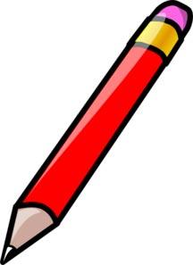 کلیپ ارت مداد قرمز