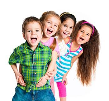 شوخی کردن با دوستان - کودکان شاد