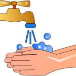 عکس کارتونی شستن دست ها