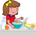 صبحانه کودک