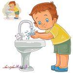 با شیر آب بازی نکن