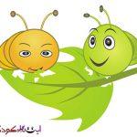 ترانه کودکانه درباره کرم ابریشم - عکس کارتونی کرم ابریشم