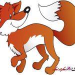 عکس کارتونی روباه