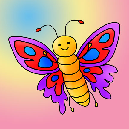 butterfly قصه صوتی کودکانه آهوی نقره ای با صدای مریم نشیبا به همراه کتاب