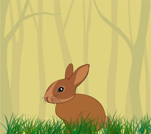 rabbit256 داستان کوتاه کودکانه شیر شکمو - اول این غذا