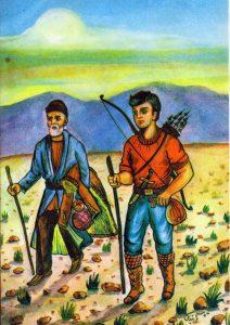 04-212x300 دانلود کتاب پهلوان پنبه داستانی از گلستان سعدی به نثر امروزی