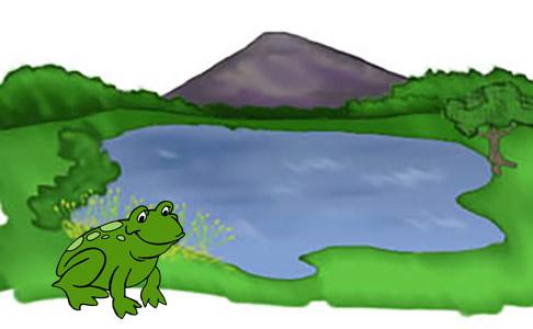 frog25 قصه صوتی پستچی جنگل سبزبه همراه متن داستان