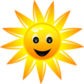 sun_clipart2 سه شعر کودکانه در مورد خورشید خانوم