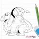 آموزش نقاشی اژدها
