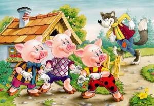 3rd-little-pigs03-300x208 دانلود قصه صوتی سه بچه خوک با صدای فاطمه عرب به همراه کتاب داستان