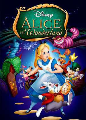 Alice_in_Wonderland انیمیشن هایی که از کتاب اقتباس شده اند