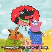 کارتون سه بچه خوک
